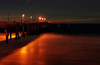 Pacifica Pier at night <br /> I used a tripod and manual settings, but was extremely disapointed in the quality of the 100% image. Cropped down it looks fine.