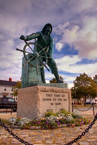 Gloucester Statue of Fisherman
