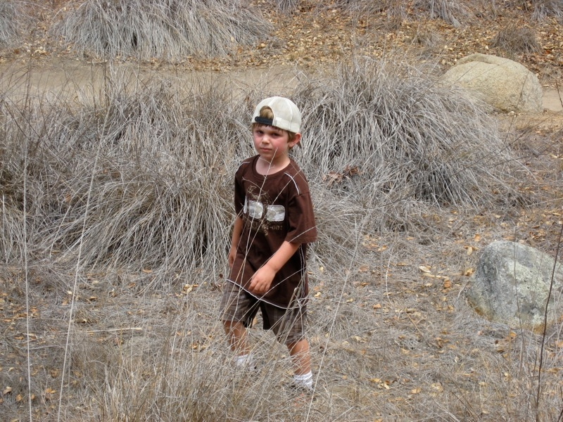 Hiking with Ethan