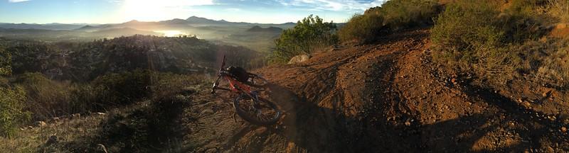 Bernardo Summit trail