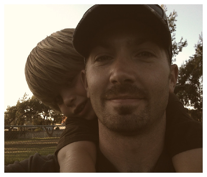 Me and Ethan at the dog park