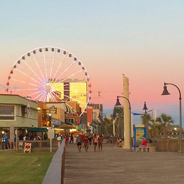 The Boardwalk at Myrtle Beach