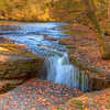 Old Stone Fort State Park Water Fall-