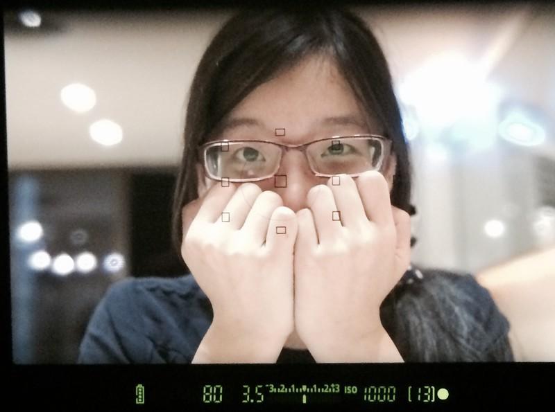 Through the eyes of a paparazzo.