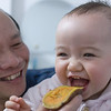 Baby loving sweet potato (2013-03-28_0133)