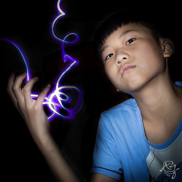 Child painted with light. (2012-05-17_1411)