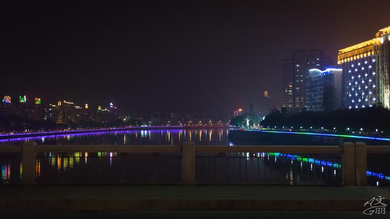 Standing on Feng Cai Bridge (2013-05-05_1012)