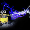 WALL-E Painted with light!