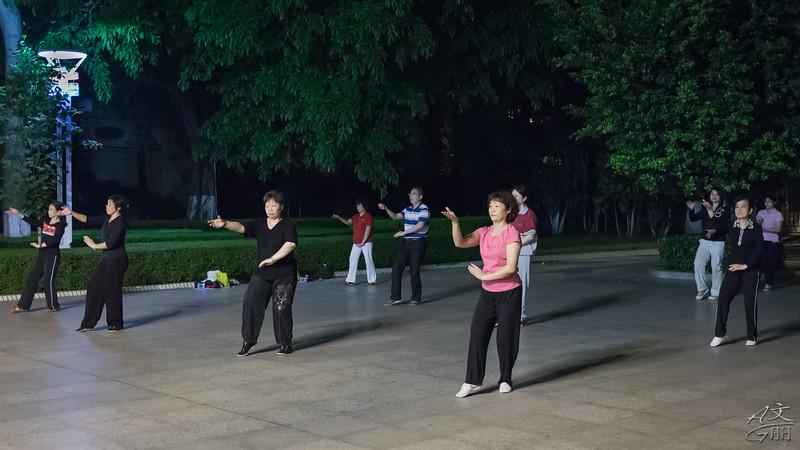 Tai Chi at night (2013-05-05_1034)