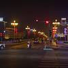 Intersection at night in Shaoguan (2013-05-05_1048)