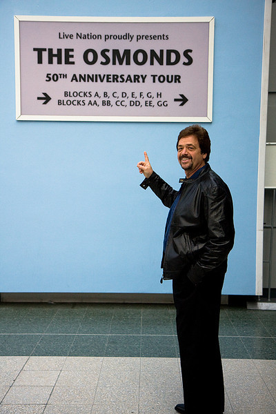 Jay Osmond at the SECC