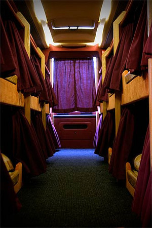 Tour Bus Bunks