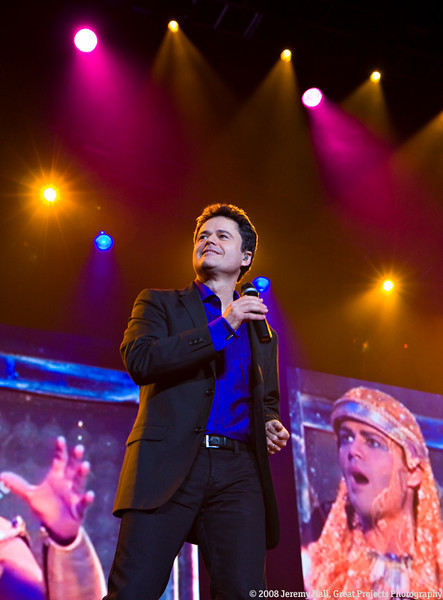 Donny Osmond in Belfast