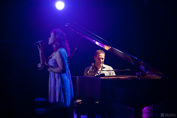 Jim Brickman & Anne Cochran at the Scera Shell