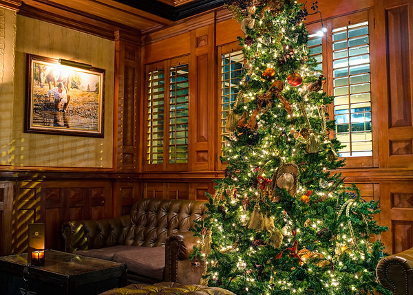 Driskill Bar Christmas Tree