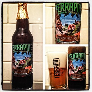 #Terrapin Side Project #20 Dr Krunkles White Farmhouse #IPA #beer #beerporn #craftbeer