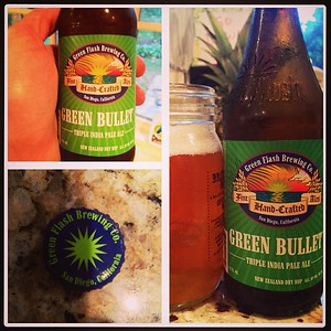 Green Flash Brewing Co Green Bullet Triple India Pale Ale #ipa #beerporn #beer #greenflash #newzealanddryhop #sandiegobeer