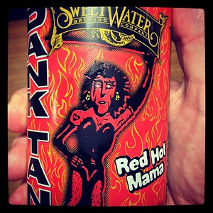Sweetwater Dank Tank Red Hot Mama Imperial Red Ale #sweetwater #danktank #redhotmama #craftbeer #beer @saviprovisions