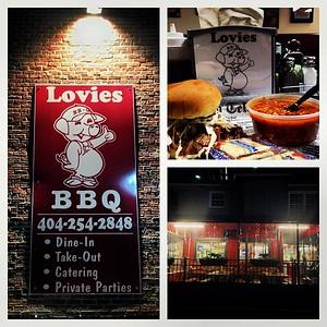 Lovies BBQ is open for business. I closed it down tonight! #BBQ #buckhead #goodfood