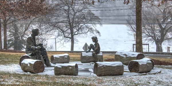 Galloway School Snow