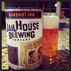 Jailhouse Brewing Company Mugshot IPA #firsttry #ipa #beer #mugshot #jailhouse #craftbeer