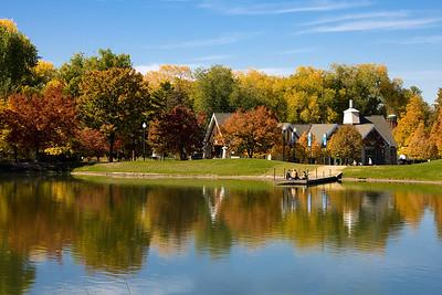 Liberty Park Pond