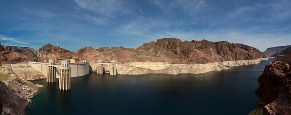 Pano: Hoover Dam & Lake Mead