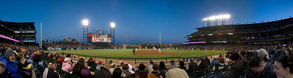 Giants Game, 5th Row Panoramic