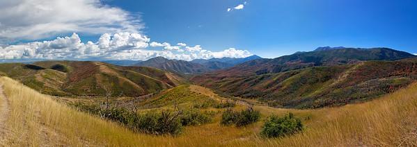 Panoramic Alpine View