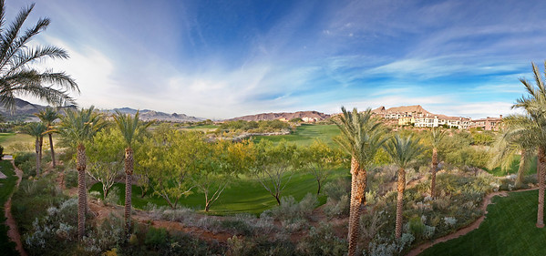 Lake Las Vegas Condo Panoramic View