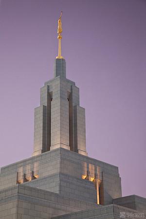 Draper LDS Temple Steeple