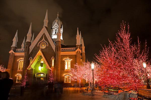 Salt Lake City LDS Assembly Hall