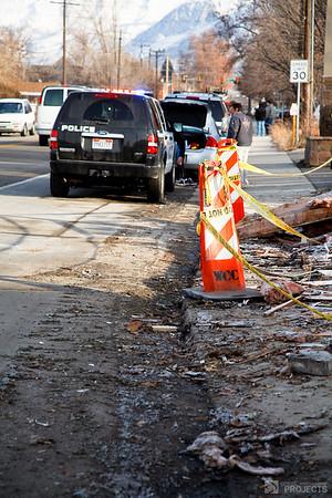 Gas Explosion, Pleasant Grove, Utah