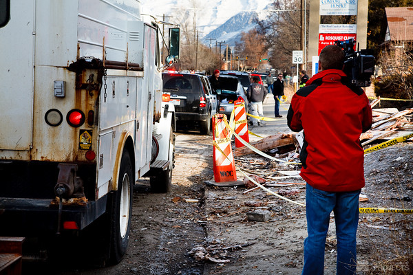 Gas Explosion, Pleasant Grove, Utah