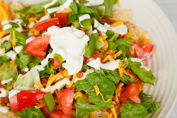 Tortilla Chip Salad