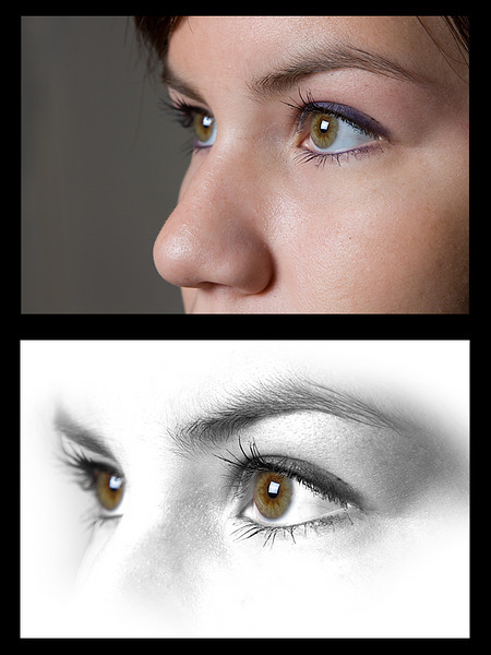 Eyes Before and After