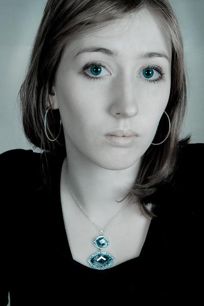 Stephanie in Blue