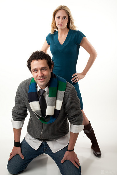 Kati & Kyle in studio
