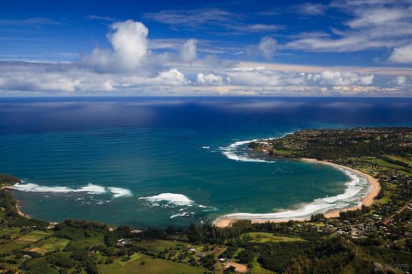 From the Air - Hanalei Bay, Kauai