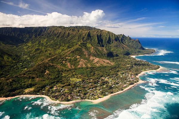 From the Air - North Shore, Kauai