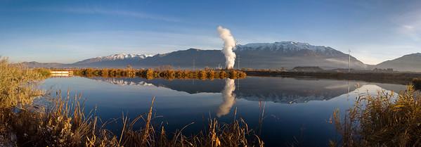 Utah Lake Morning Reflection