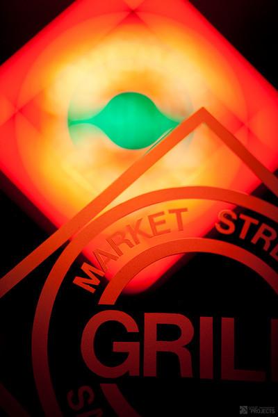 Neon Flower - Market Street Grill