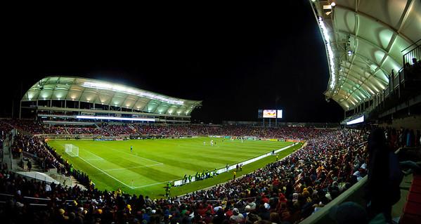 RSL Rio Tinto Stadium Pano