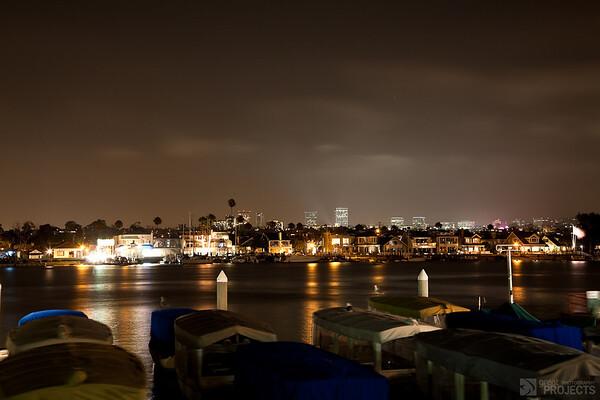 Balboa Island at Night