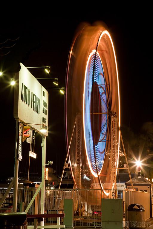 Balboa Auto Ferry & Ferris Wheel