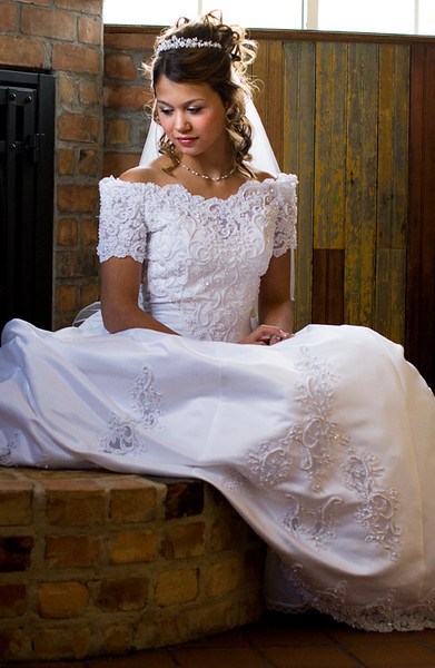 Contemplative Bride