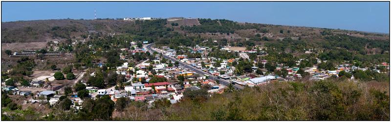 Panorámica de Plan del Río, Veracruz.