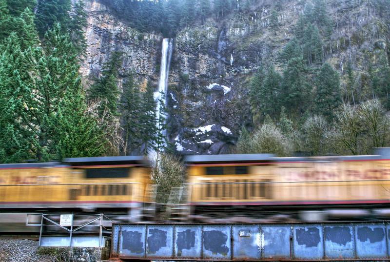 TRAIN FALLS