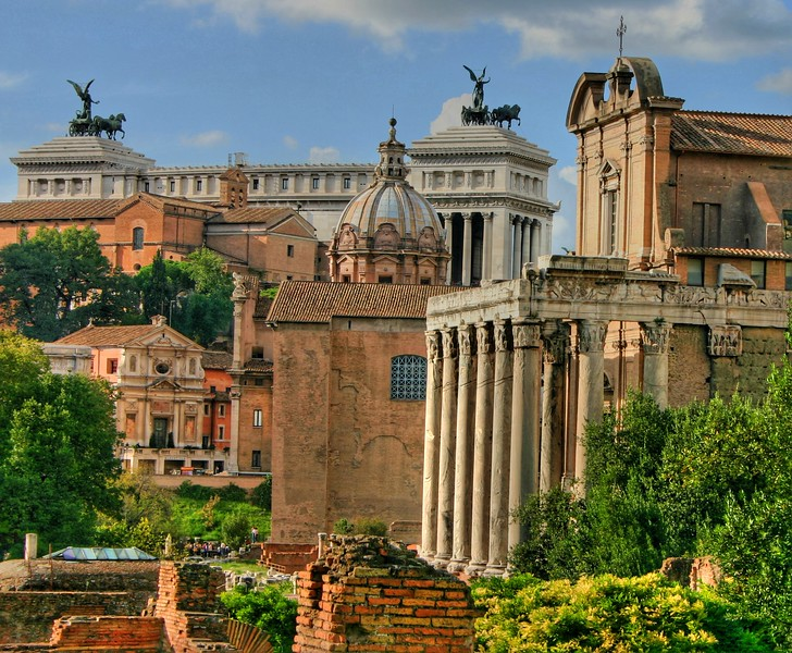 Rome (the old city)