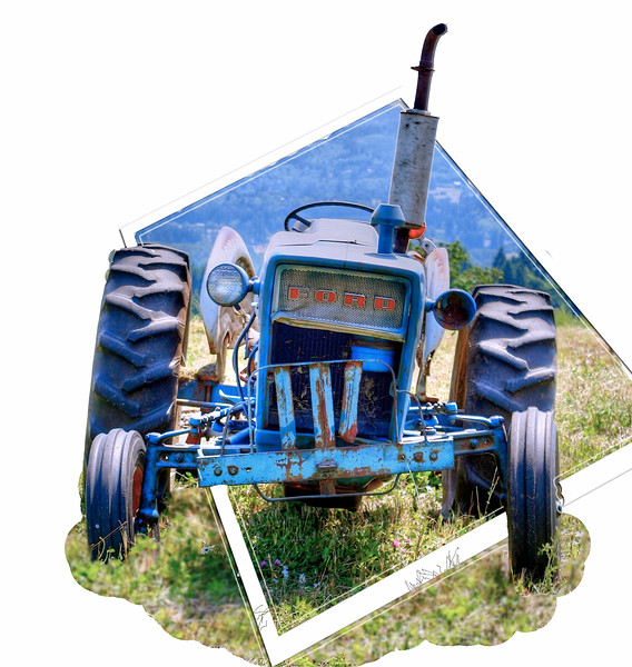 tractor out of bounds